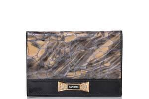 Wanlima Обложка для паспорта женская  WANLIMA W11049741606-grey