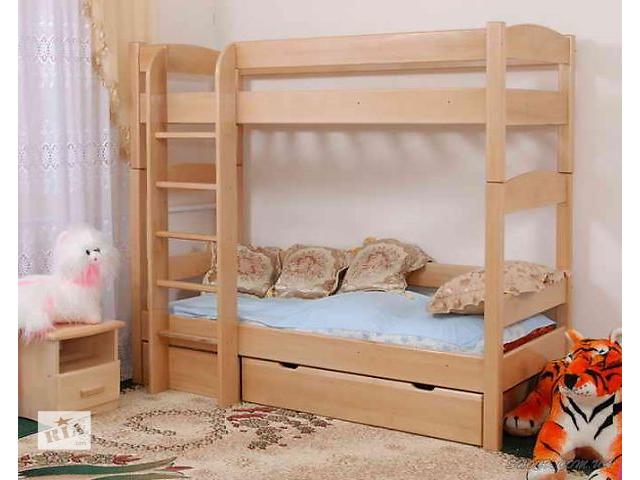 продам Кровать 2-х ярусная с бука Эврика бу в Ивано-Франковске