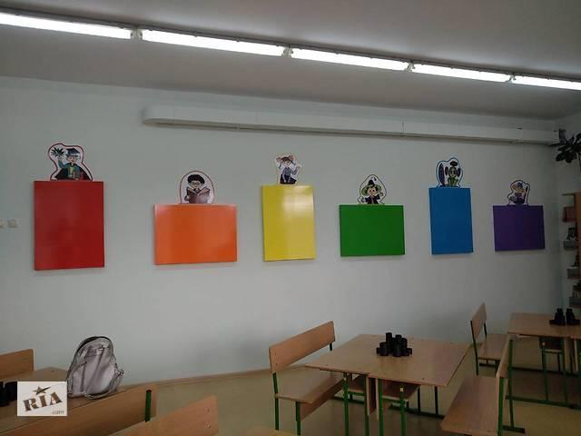 Макетирование и изготовление стендов любых размеров для учреждений образования (детских садов, школ и др. )- объявление о продаже  в Ровенской области