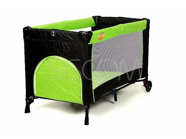 продам Манеж-кровать Basic - Baby Maxi (синий, зеленый, розовый, оранжевый). Доставка по Украине! бу в Львове