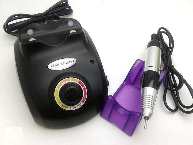 Фрезер Nail Master ZS-603, на 30000 оборотов, Черный