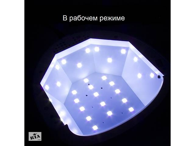 Лампа нового поколения для маникюра 2в1 SUNone, 30 ламп, UV LED 24W 48W