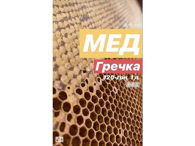 бу Мед - Соняшниковий 2019 в Хмельницькому