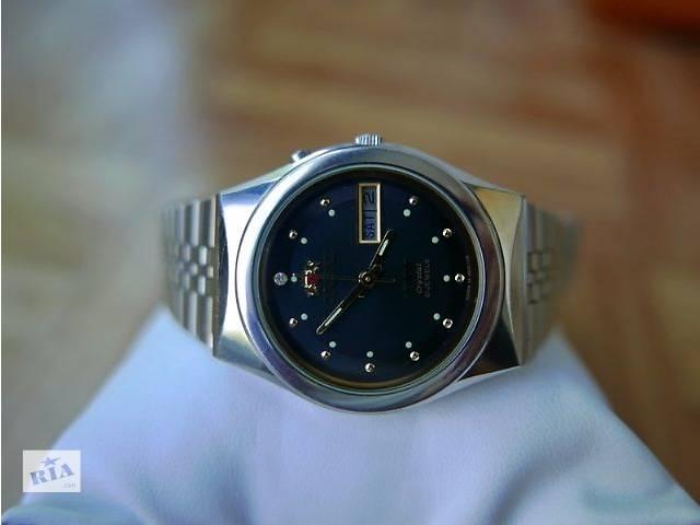 продам Механические часы ORIENT Crystal 21 Jewels пр. Япония (Original) бу  в Киеве b0d8e967987