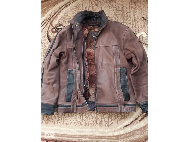 3b4e8b4caff2 Продаю зимнюю мужскую кожаную куртку - Мужская одежда в Скалате на ...