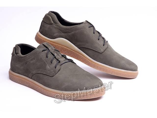 продам Кожаные мужские туфли Tommy Hilfiger Olive бу в Вознесенске