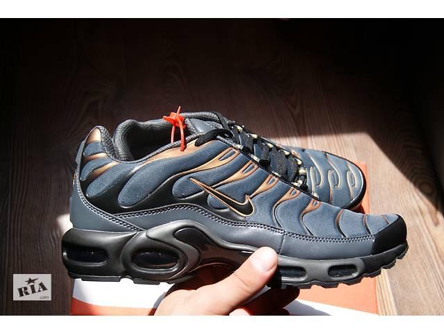 d1ca6eff4 Кроссовки Nike Air Max tn plus (Серые) - Мужская обувь в Харькове на ...