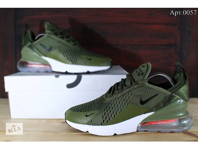 4845eec4 Кроссовки Nike air Max 270 зеленые - Мужская обувь в Запорожье на ...