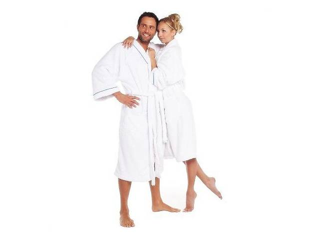 бу Білий халат з мікрофібри унісекс р. L TCM Tchibo Німеччина в Дніпрі (Дніпропетровськ)