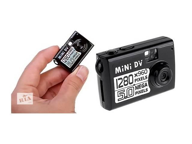 продам Mini DV-5 Мини Видеокамера 5мп беспроводная с функцией Обнаружения Движения Веб Камера Фотоаппарат Диктофон бу в Киеве