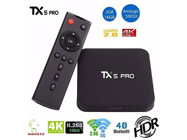 продам TX5 PRO - недорогой и мощный Смарт ТВ бокс, Amlogic S905X, 2/16GB бу в Киеве