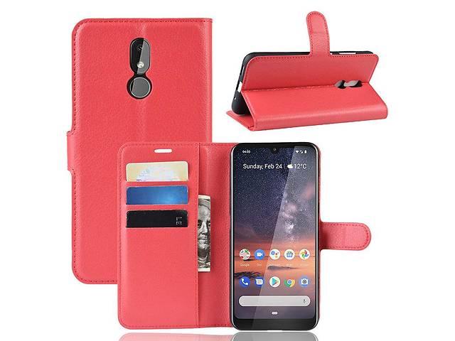 Чехол Luxury для Nokia 3.2 книжка красный- объявление о продаже  в Дубно