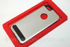 Чехол на Apple Phone 6 plus/6S plus задняя крышка металлическая  (разные цвета):Silver