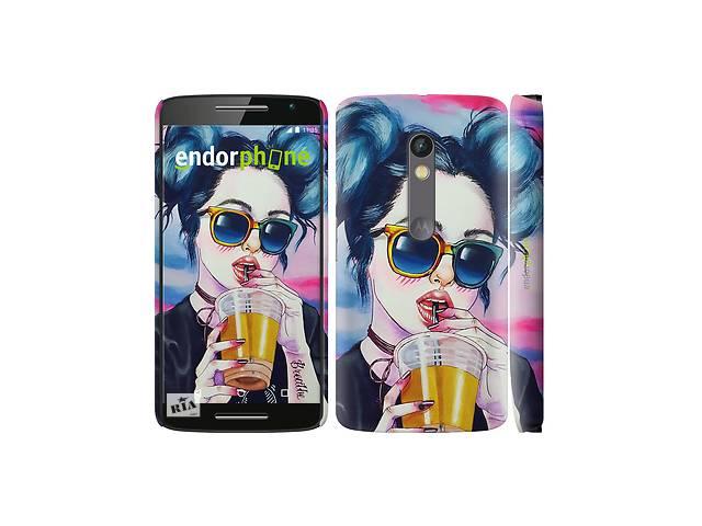продам Чехол на Motorola Moto X Play Арт-девушка в очках 3994c-459 бу в Одессе