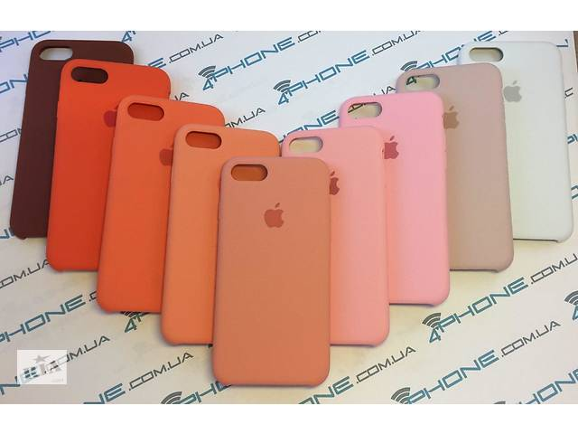 бу Чехол Silicon Case Iphone Xs Max / Xr / X/ Plus / 7/ / 6 / 6s /5 /se в Киеве