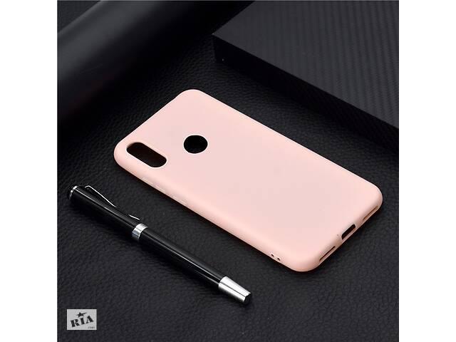 бу Чехол Soft Touch для Huawei Y6 2019 / Y6 Pro 2019 силикон бампер светло-розовый в Киеве