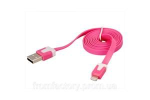 Кабель Lightning/USB (1м, разные цвета):Малиновый