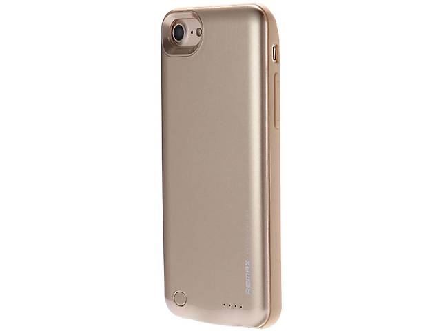 продам Power Bank Remax Energy jacket with case for iphone7 2400 mAh Gold бу в Харькове