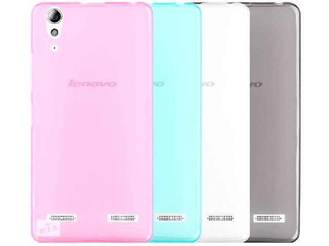 купить бу Силиконовый чехол для Lenovo S90 Sisley супертонкий 0.3 мм в Киеве