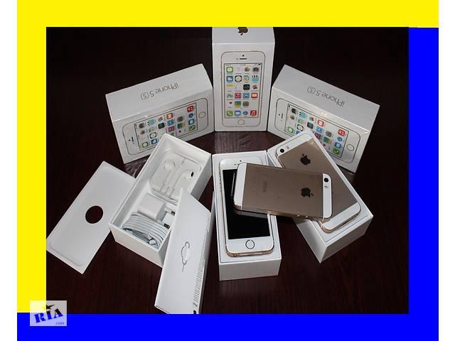 IPhone 5s 16Gb gold [NEW в заводской плёнке]оригинал 100% NEVERLOCK (без аванса (+подар. стекло айфон 5с- объявление о продаже  в Хмельницькому