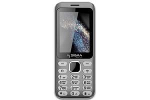 Мобильный телефон Sigma mobile X-style 33 Steel Dual Sim Grey; 2.8 (320х240) TN / клавиатурный моноблок / MediaTek MT...