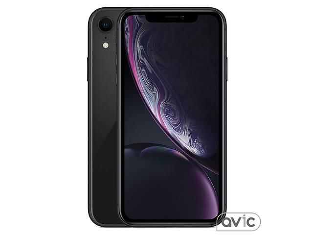 купить бу Смартфон Apple iPhone XR Dual Sim 64GB Black (MT122) в Харькове