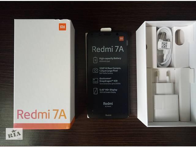 продам Смартфон Xiaomi Redmi 7A 2/16Gb Matte Black бу в Днепре (Днепропетровск)