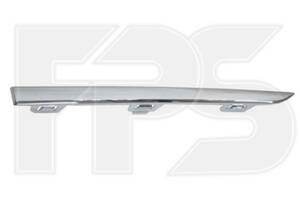Молдинг бампера задній правий Honda CR-V 17- (Тайвань) хром