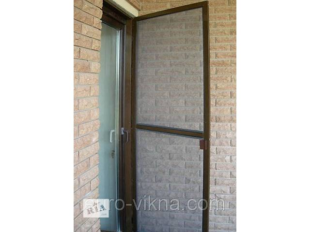 купить бу Москитная сетка на дверь, антимоскитная сетка на двери в Киеве