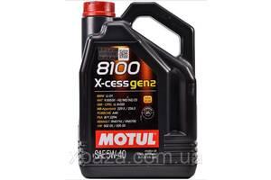 MOTUL 8100 X-CLEAN GEN2 SAE 5W40 (5L) 109762