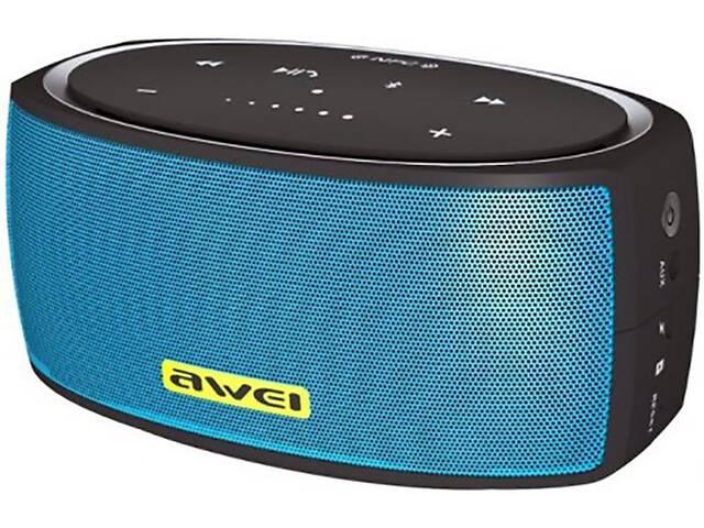 бу Портативна акустика AWEI Y210 Bluetooth Speaker Blue WF_56066 в Києві