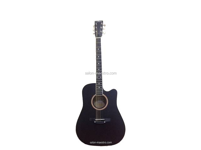 купить бу ( 02\023 ) Акустическая Гитара Leotone L-03 Black Матовая в Чернигове