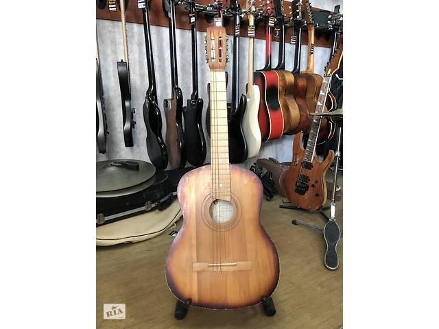 купить бу 1580 Отличный Вариант Для Начинающего Гитариста Черниговская Гитара На Нейлоновых Струнах в Киеве