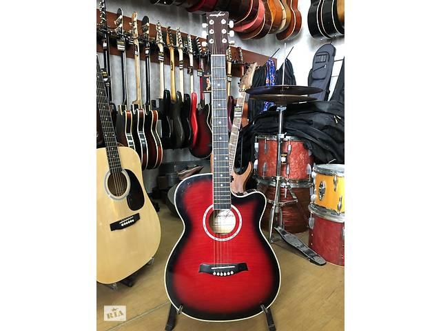 купить бу 2114 Стильная 6-ти струнная акустическая Гитара Levin в Чернигове