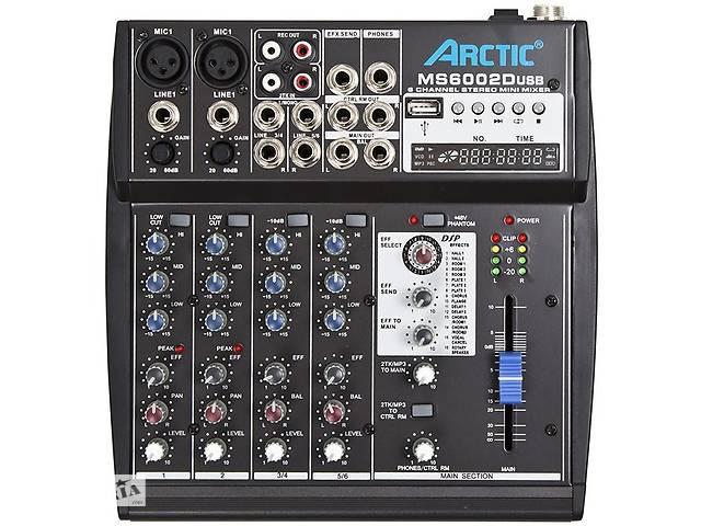 продам Микшерный пульт Arctic MS6002DUSB бу в Киеве