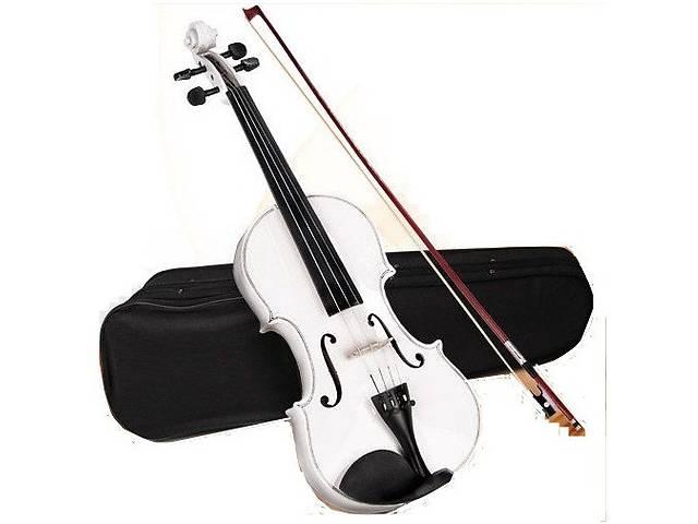 купить бу Новая классная скрипка Jago 4/4, три цвета + кейс! в Львове