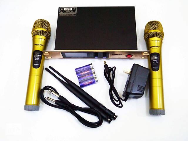 продам Радиосистема Shure SH-300G база 2 радиомикрофон бу в Херсоне