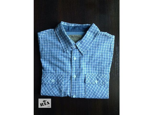 Мужская рубашка Bershka- объявление о продаже  в Киеве