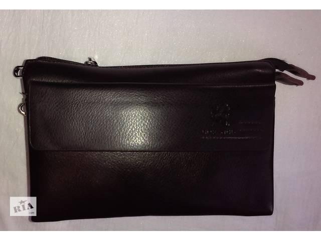 купить бу мужская сумка компактная вместительная с клапаном на магнитах в Одессе