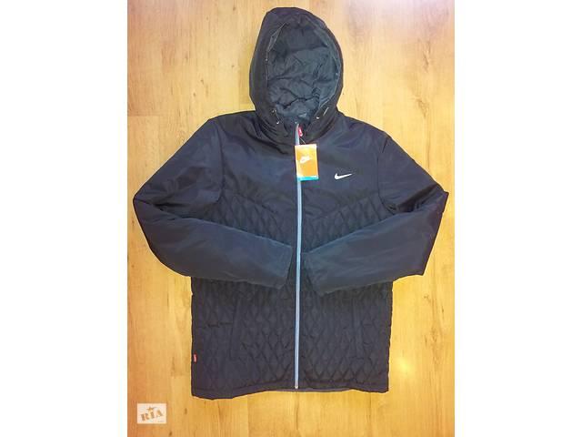купить бу Куртка NIКE  осень - весна на синтепоне с отстёгивающимся капюшёном в Каменском (Днепродзержинск)