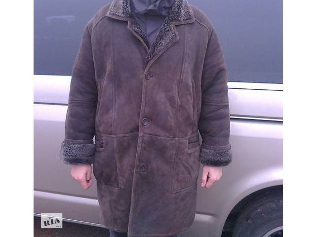купить бу Продам натуральную мужскую дубленку в Коростені