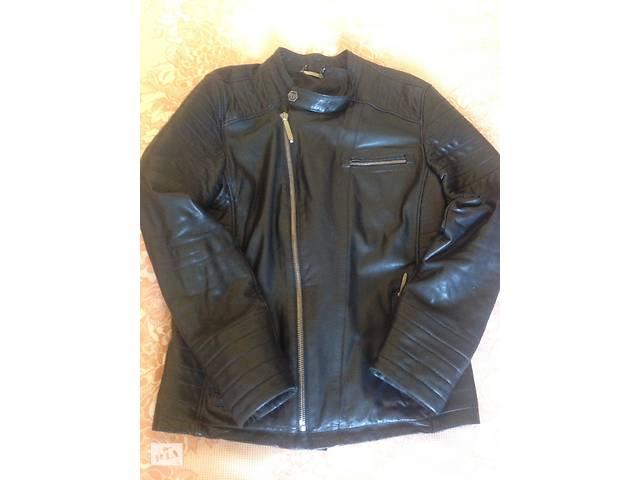 Продам шкіряну чоловічу куртку PHILIPP PLEIN - Верхній чоловічий ... 67e0296bac4d8