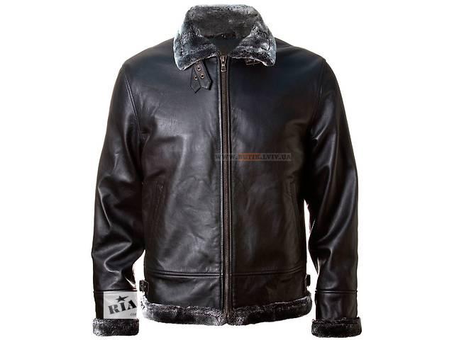 купить бу Шкіряна куртка Top Gun Leather Jacket with Bonded Fur в Львове