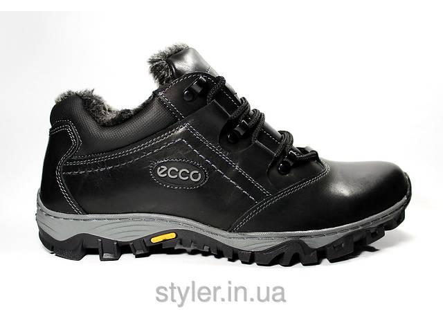 Мужские ботинки ECCO Gore-tex натуральная кожа- объявление о продаже  в Львове
