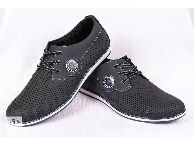 бу Мужские кожаные туфли Barzoni 00192 в Мелитополе