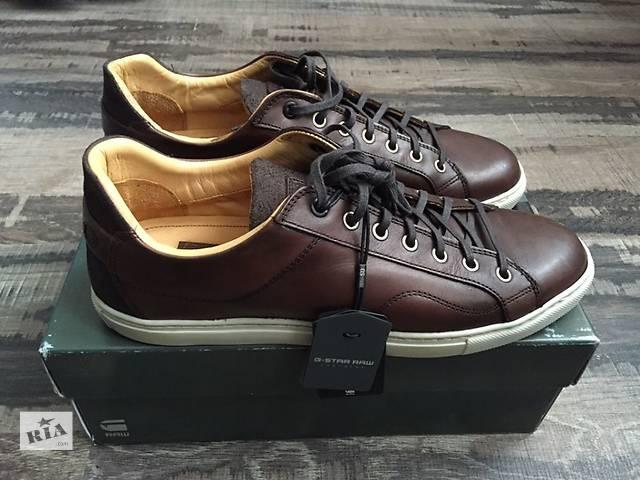 Мужские кроссовки G-Star осенние, новые(43.5р.)- объявление о продаже  в Одессе
