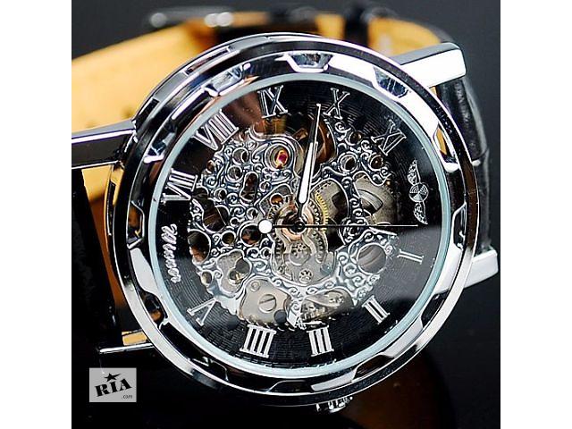 Мужские часы Winner (Кожаный ремешок) Гарантия!- объявление о продаже  в Львове