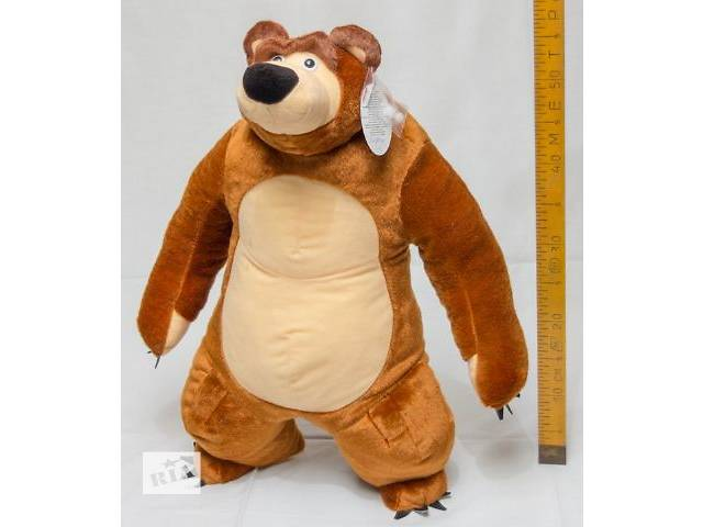 """продам Мягкая игрушка мишка """"МиМ"""" 60 см бу в Черкассах"""