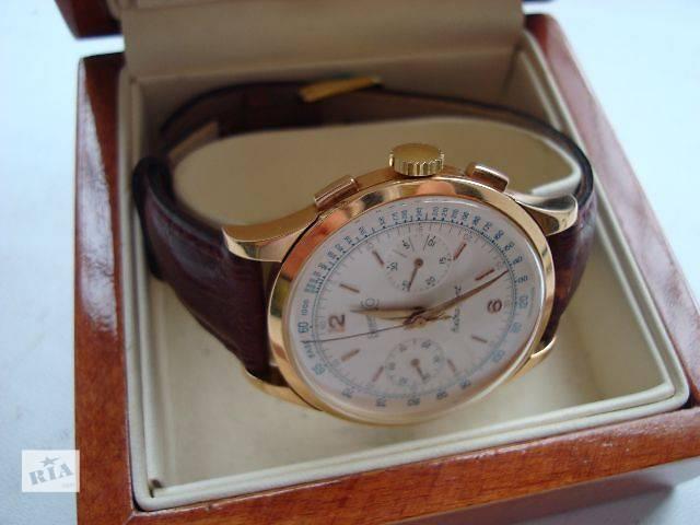 продам Наручні годинники чоловічі Швейцарія Eberhard Extra Fort Колекційний  стан бу в Хмельницькому 2dd198b6c2d83