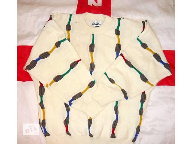 Нарядный мужской свитер Carlo Colucci 48-52р.б у. - Мужская одежда в ... cef7966510ce8